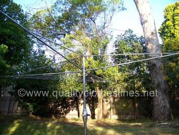 Austral super 6 rotary clothes line